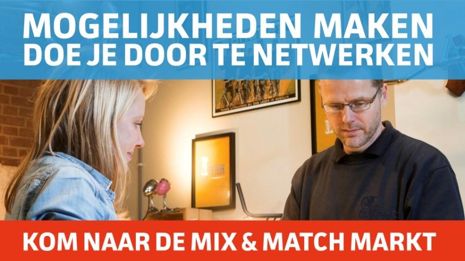 Uitnodiging Mix- & Matchmarkt
